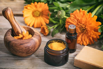 Naturopath therapies and services.